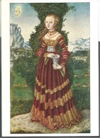 ! - Lucas Cranach (1472-1553) - Die HL. Maria Magdalena - Köln - Wallraf-Richartz-Museum - Peintures & Tableaux