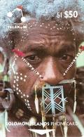 *ISOLE SALOMONE - 02SIE* - Scheda Usata - Solomon Islands