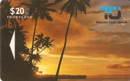 *ISOLE COOK - 01CID* - Scheda Usata - Cook Islands