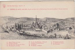 CPA La Ville De Corbeil, En 1810 (pk19473) - Corbeil Essonnes