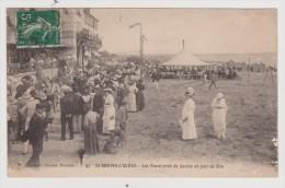 CPA - ST SAINT BRÉVIN L'OCÉAN (Loire-Atlantique) - Les Dunes Près Du Casino Un Jour De Fête / Circulé En 1914 - Saint-Brevin-l'Océan