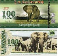 BURUNDI 500 FRANCS 2015 P NEW PICTURE CROCODILE UNC - Botswana
