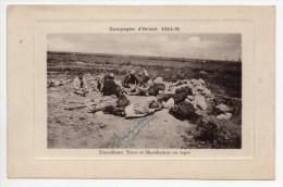 SERBIE - TRAVAILLEURS TURCS ET MACEDONIENS AU REPOS - CAMPAGNE D´ORIENT WW1 - Serbien