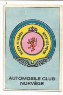 IMAGE AMERICANA MUNICH - AUTOMOBILE - SIGLE AUTOMOBILES CLUBS - NORVEGE - Sin Clasificación