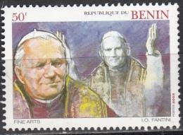 Benin, 2003 - 50c Giovanni Paolo II - MNH** - Benin – Dahomey (1960-...)