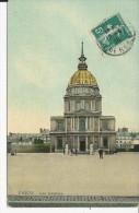 Paris   Lres Invalides   Carte  Toilée - Frankreich