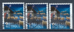 BELGIE 4381 A B  3 Zegels Uit B143 - Used Stamps