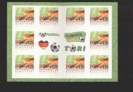 Bund ** MH  88 Fußball Selbstklebend - Ungebraucht