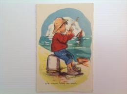 """Carte Postale G Bouret """"Le Vieux Loup De Mer"""" - Bouret, Germaine"""