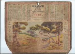 Calendrier /Almanach Des Postes Et Des Télégraphes/ Chemin Des Dunes-Ile D'Oléron/Oberthur/ 1942   CAL204 - Grand Format : 1941-60