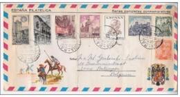 Gelopen Brief Spanje 1973 - 1931-Aujourd'hui: II. République - ....Juan Carlos I