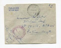 !!! CACHET PRESIDENT DE LA REPUBLIQUE (VINCENT AURIOL) SUR LETTRE DE DAKAR POUR L'EXTREME ORIENT - Postmark Collection (Covers)