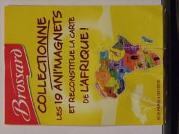 Magnet BROSSARD Afrique Carte Complète (19 Magnets) - Animaux & Faune