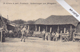 Marne (51), St Hilaire Le Petit, Guerre 14-18, , Preparation Du Repas De Midi, TB Cachets 7 Bad Inf Regt 142 - Autres Communes