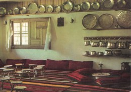 Bulgaria The Village Etar Gabrovo District Ethnographic Complex Old House Interior 1960s - Europe