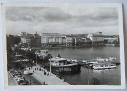 HAMBURG BINNENALSTER UND NEUER JUNGFERNSTIEG. 1949 - Unclassified