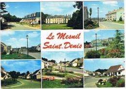 MESNIL  SAINT  DENIS . 78 . Residences Du Chateau . Multivue.1985. - France