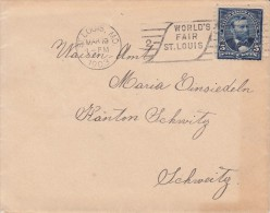 OLYMPISCHE SPIELE-OLYMPIC GAMES, USA, 1903, Special Postmark - Forwarded Card To Germany !! - Sommer 1904: St-Louis