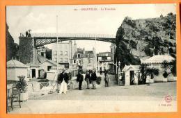 MNH-14 Granville, La Tranchée, Pont, Petits Pavillons. ANIME. Non Circulé - Granville