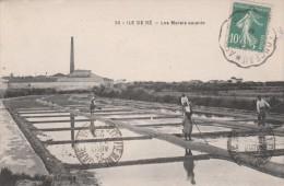 Les Marais Salants. - Ile De Ré