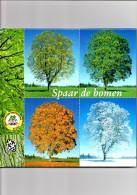 Spaar De Bomen Kleine Album Uitgeverij DAVO Deventer - Postzegels