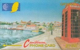 "GRENADA(GPT) -  Carenage St. George""s, CN : 105CGRA(normal 0), Tirage %35000, Used"