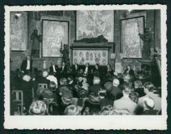 1936 Sessão No MUSEU ARQUELOGICO DO CARMO Em Lisboa. Vintage Real Photo PORTUGAL - Personalidades Famosas