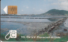 SAINT MARTIN - Salt Pond, Chip GEM1b, Used - Antilles (Netherlands)