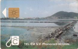 SAINT MARTIN - Salt Pond, Chip GEM1a, Used - Antilles (Netherlands)