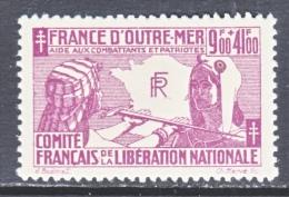 FRENCH  COLONIES  B 3-6   ** - 1942 Protection De L'Enfance Indigène & Quinzaine Impériale (PEIQI)