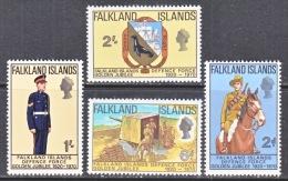 FALKLAND  ISLANDS  188-91  **   DEFENCE  FORCE - Falkland Islands