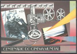 Brazil 1995 - MNH - Cinema / Movies, Horse - Francobolli