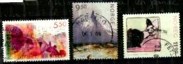 Norvége Oblitérés Scott N° 1363.1387.1358. - Oblitérés