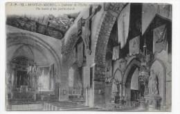 LE MONT ST MICHEL - N° 92 - INTERIEUR DE L' EGLISE - Le Mont Saint Michel