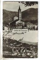 CPSM CAPRIASCA (Suisse-Tessin) - TESSERETE : 2 Vues - TI Tessin