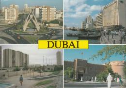 """UAE - Dubai - Views  - Nice Stamp """"bird"""" - Ver. Arab. Emirate"""