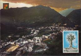 Andorra - Les Escaldes - Nice Stamp - Andorre