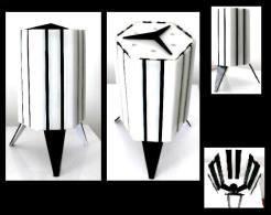 Ancienne Lampe Design SPOUTNIK Hongroise / Vintage Old Sputnik Inspiration Lamp From Soviet Hungary - Luminaires