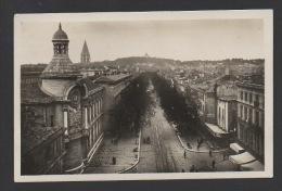 DF / 30 GARD / NÎMES / LE LYCÉE BOULEVARD VICTOR-HUGO / CIRCULÉE EN 1937 - Nîmes
