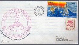 ★ US - STS 6 - SPACE FLIGHT TRACKING - MERRITT ISLAND - CROCODILE (7434) - United States