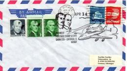 ★ US - MIDWEST POSTAGE STAMP SHOW - CONCORDE / COLUMBIA (7635) - FDC & Conmemorativos