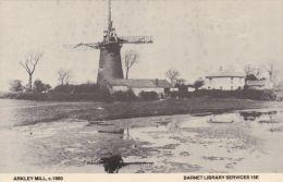 ARKLEY MILL, BARNET. 1900. LIBRARY REPRINT - London Suburbs