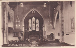 BUDE - ST MICHAELS CHURCH I NTERIOR - England