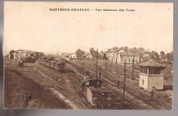 MONTREUX - CHATEAU . Les Voies De La Gare . - Andere Gemeenten
