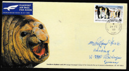 ANTARCTIC, BAT, Expedition Netherland Research SGNY 24.2.1993,   Cachets , Look Scan !! 4.6-40 - Antarctische Expedities