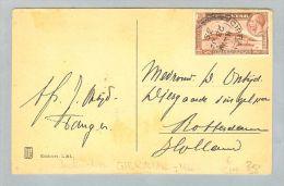 Gibraltar 1935-01-23 Postkarte Nach Rotterdam NL - Gibraltar