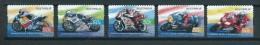 2004 Australia Complete Set Motorrace,motorcycling Self-adhesive,zelfklevend Used/gebruikt/oblitere - 2000-09 Elizabeth II