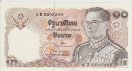 Thailand 10 Baht 1980 Pick 87 Sign63? UNC - Thailand