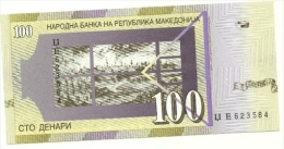 Macedonia - 100 Dinari 2005, - Macedonia