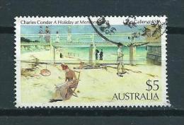 1984 Australia $5 Art,kunst Used/gebruikt/oblitere - 1980-89 Elizabeth II